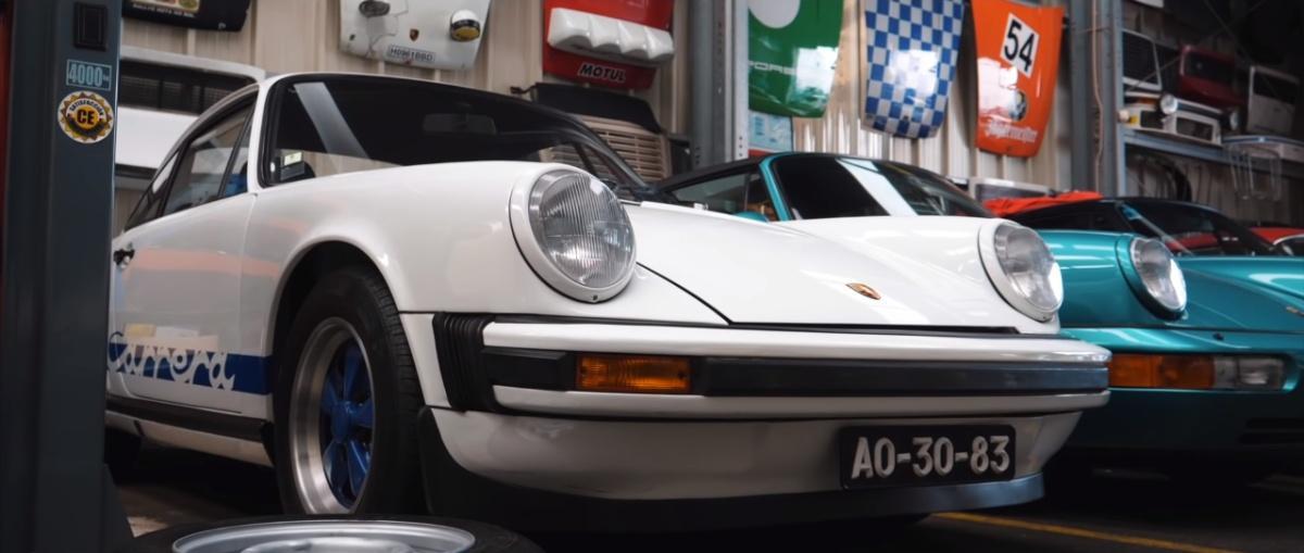 Watch: £20 million of classic Porsches stashed in Lisbon garage