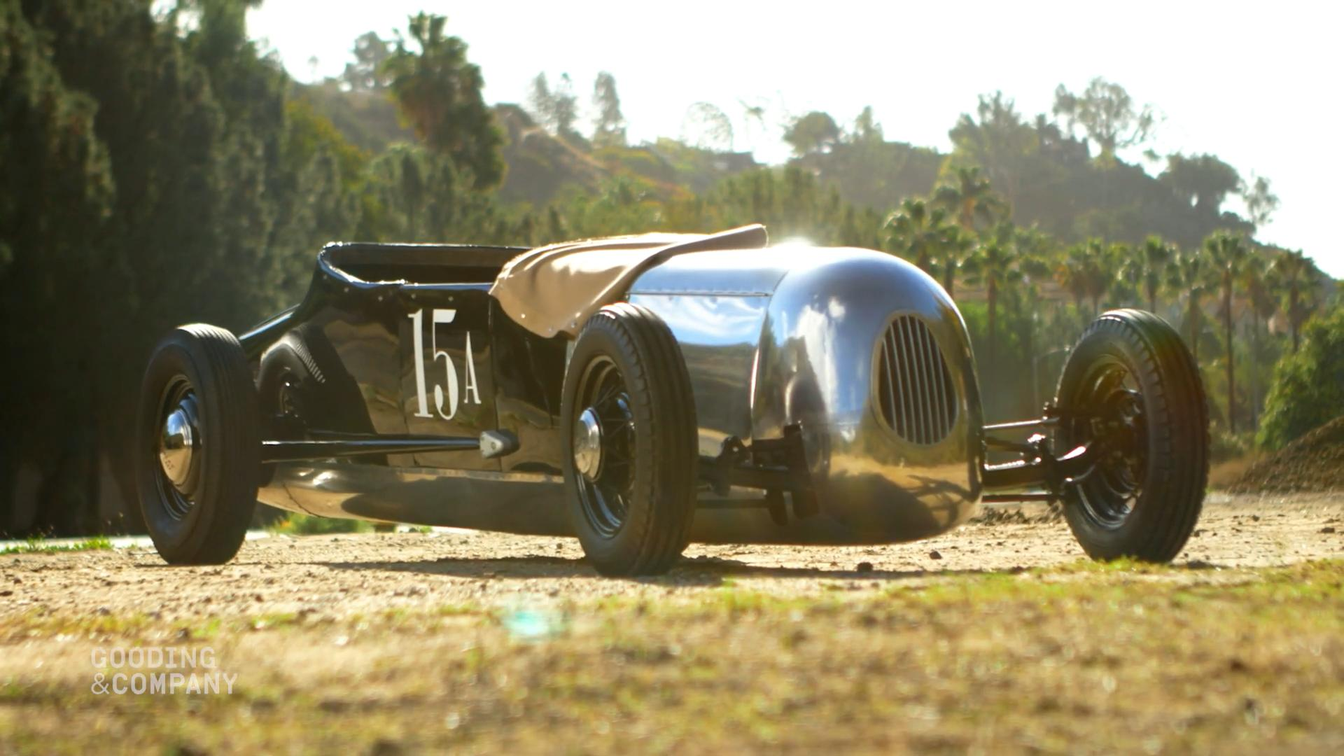 This 1948 Spurgin-Giovanine Roadster is hot rod royalty