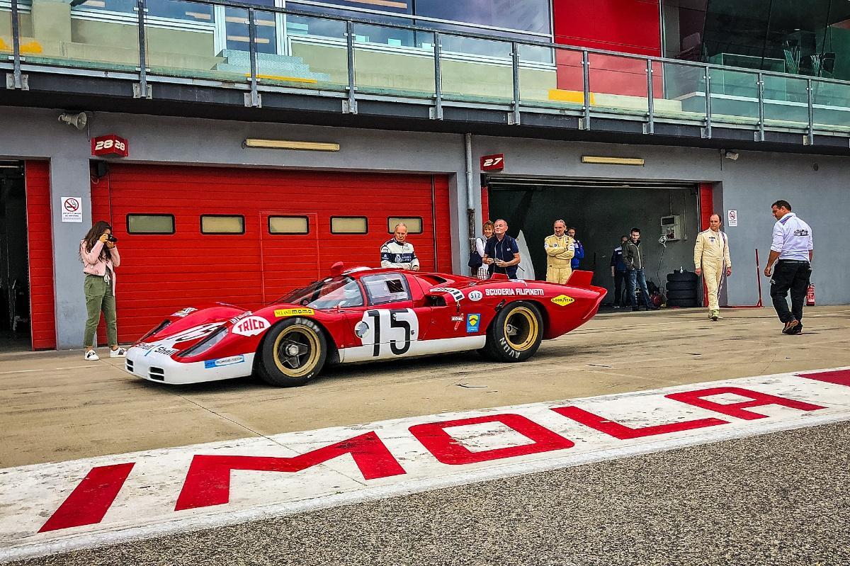 Watch: Iconic sportscars unleashed around Imola