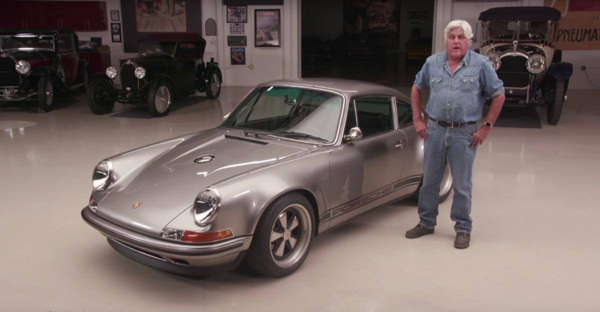 Jay Leno meets the 100th Singer-modified Porsche 911