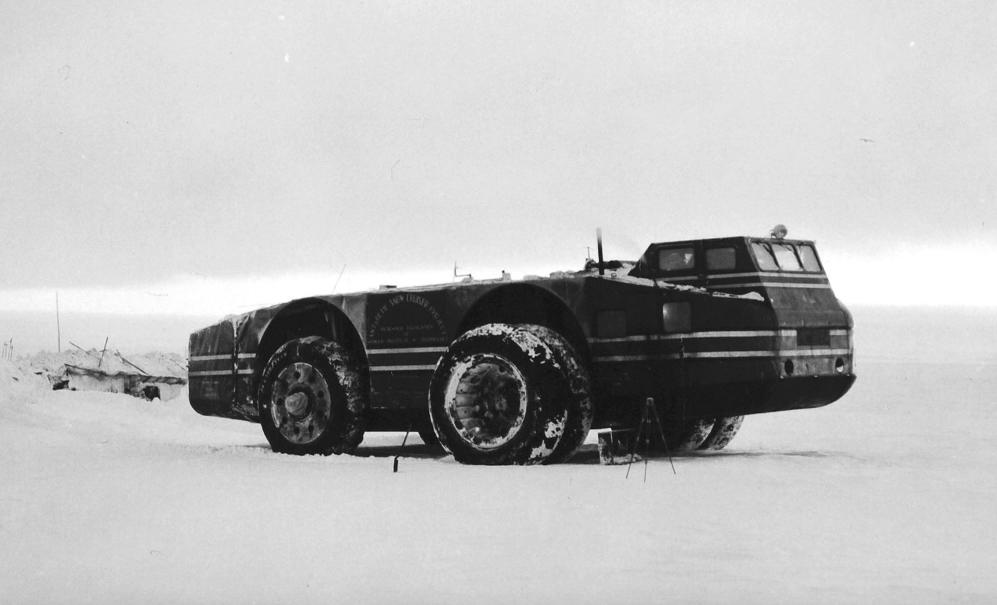 The incredible story of America's lost 1939 Antarctic Snow Cruiser