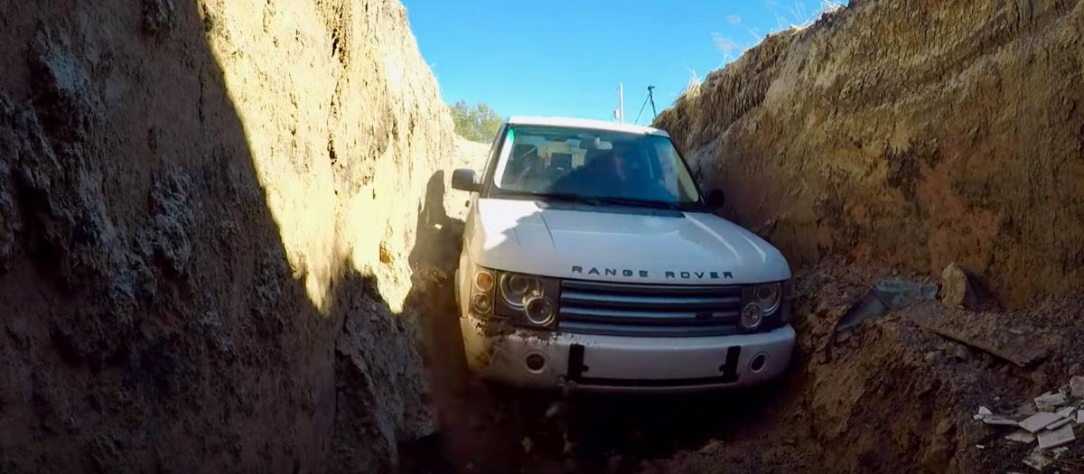 Man fed up of unreliable Range Rover buries it underground