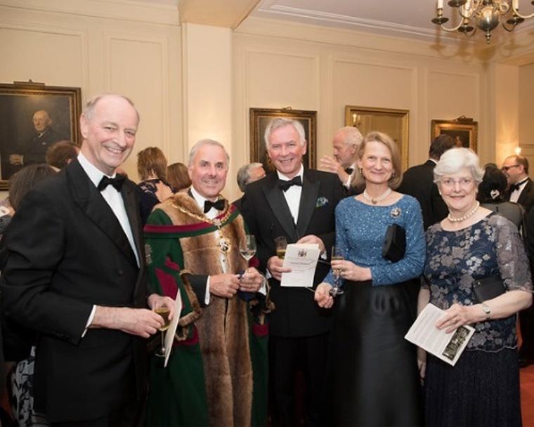 Sir David Foskett, Master, Alderman Nicholas Lyons, Lady Mayoress, Lady Foskett