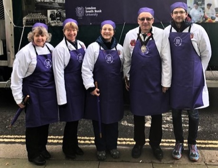 Bakers members at the Lord Mayor's Show 2019