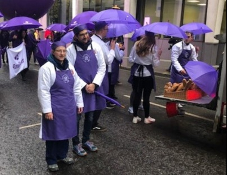 Bakers members in the Lord Mayor's Show 2019
