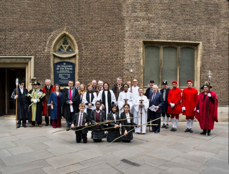 Group photos of All Hallows on Ascenion day