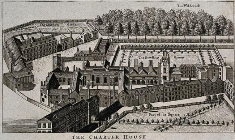 Charterhouse map