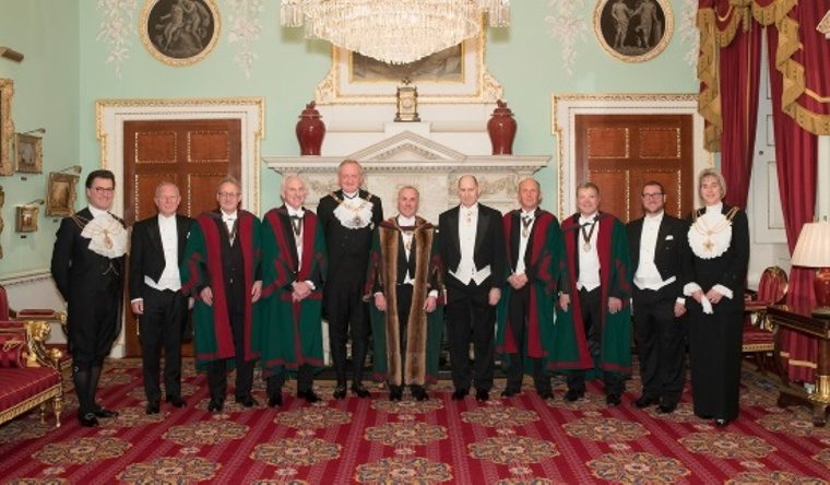 Master, Wardens, Lord Mayor, Sheriffs and Rabbis