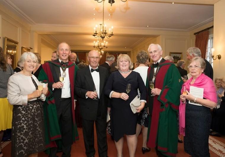 Wardens, Liveryman Joe Street and guests