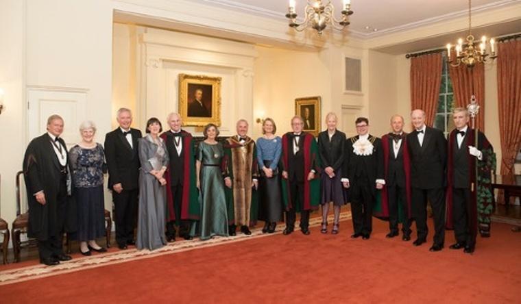 Master, Mistress, Wardens, Clerk, Beadle and Principal Guests