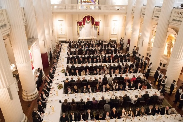 Overview of Egyptian Hall in Mansion House