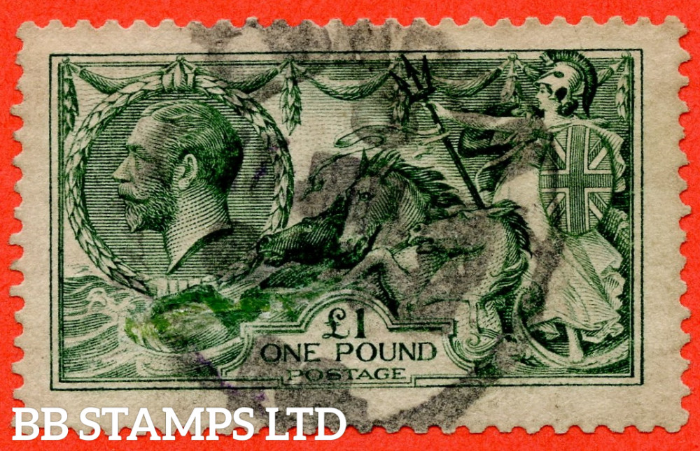 SG. 403. N72 (1). £1.00 Green. A good used example.