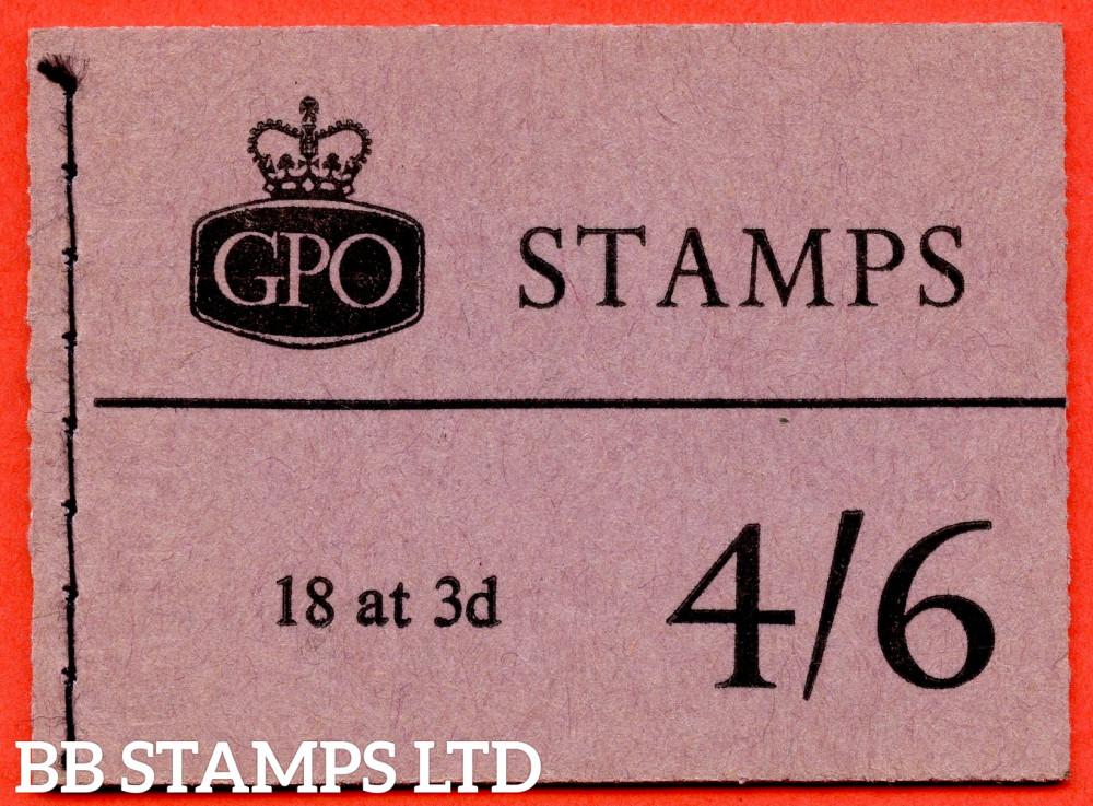 SG. L20. 4/6 1960 June. Multiple Crown. Violet Cover Type C