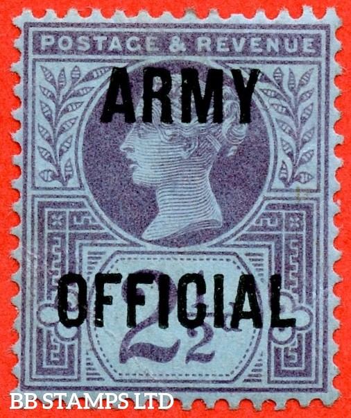 """SG. 490. Q17. 3d pale violet. A superb UNMOUNTED MINT. """" Control K42 cylinder 21 dot """" control block of 6 with perf type 5 E/I."""
