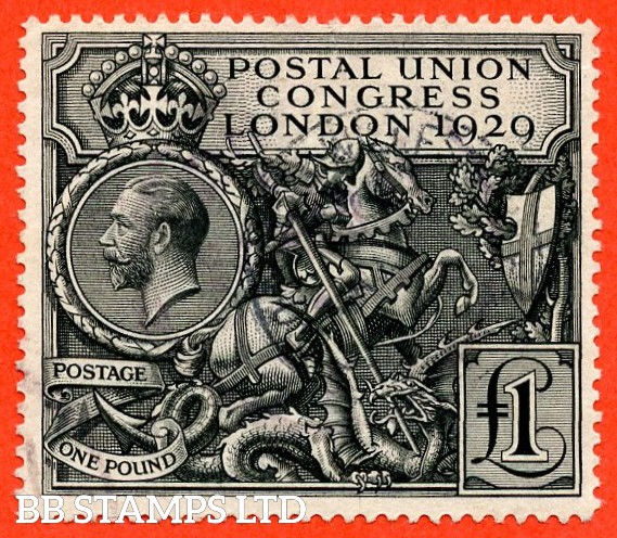 SG. 438. NCom9. £1.00 Postal Union Congress. A fine CDS used example.