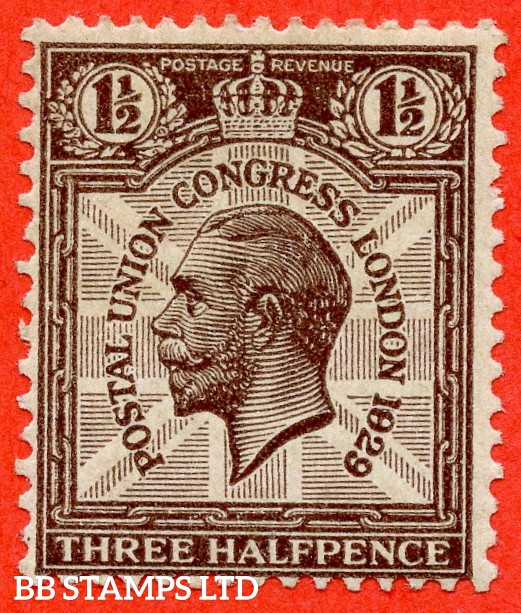 """SG. 436. NCom7 c. A fine lightly mounted mint example with the listed variety """" 1829 for 1929 row 2/5 """"."""