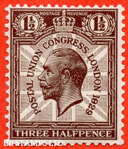 """SG. 436. NCom7 c. A superb UNMOUNTED MINT example with the listed variety """" 1829 for 1929 row 2/5 """"."""