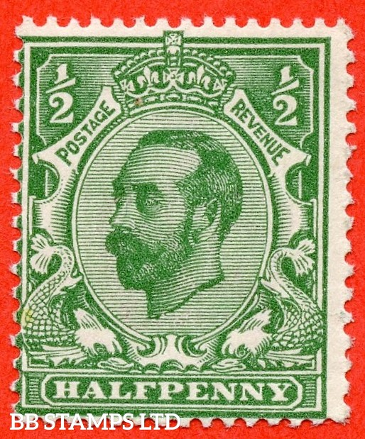 SG. 326. N2 (8). ½d Bluish green. A superb UNMOUNTED MINT example complete with Brandon certificate.