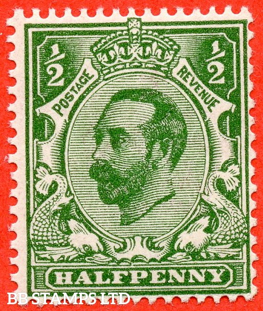SG. 323. N1 (4). ½d Bluish Green. A super UNMOUNTED MINT example of this scarcer Downey shade complete with BPA certificate.