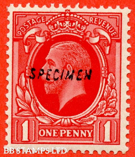 "SG. 440 variety N49 (1) v. 1d scarlet. A very fine lightly mounted mint example overprinted with "" SPECIMEN "" type 23."