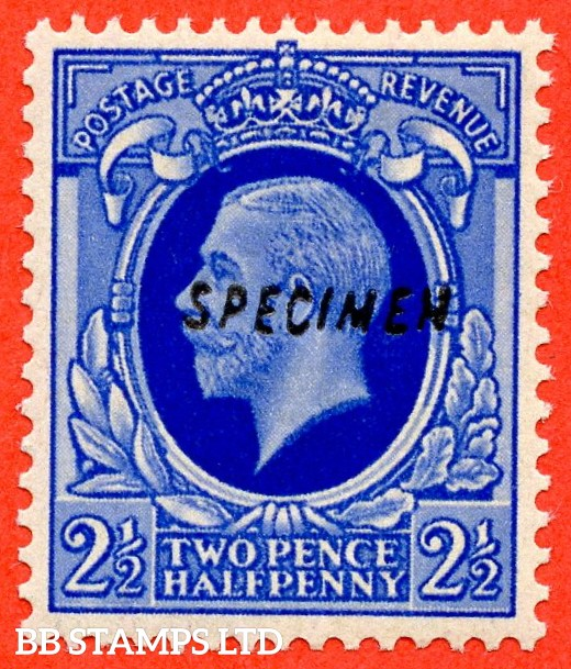 SG. 443. N56 s. 2½d. A very fine UNMOUNTED MINT example overprinted with SPECIMEN type 23.