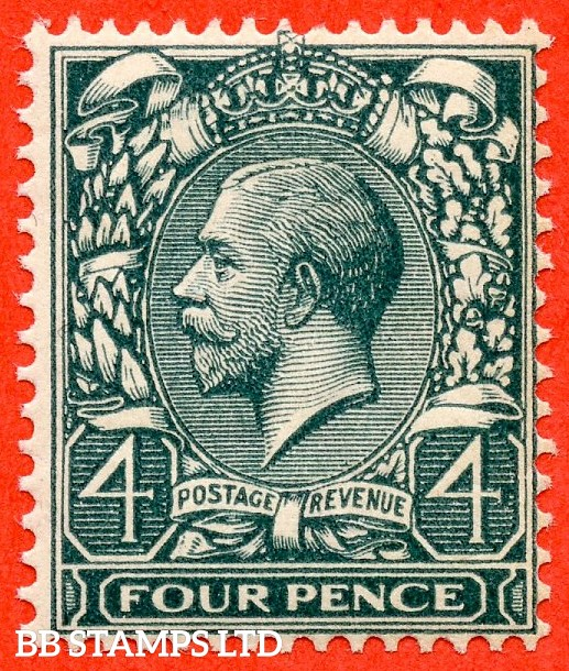 SG. N23 (7). 4d Deep Slate Green. A fine lightly mounted mint example complete with RPS certificate.
