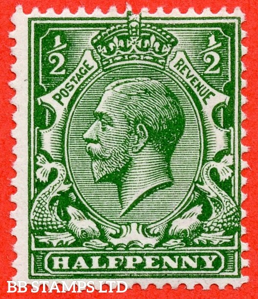 SG. N14 (15) ½d Deep Blue ( Myrtle ) Green. A super UNMOUNTED MINT example complete with RPS certificate.