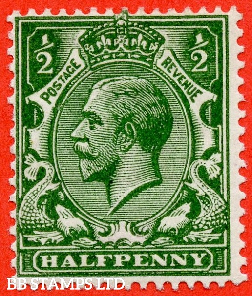 SG. 353 variety N14 (5). ½d Very Deep Green. A fine mounted mint example complete with RPS certificate.