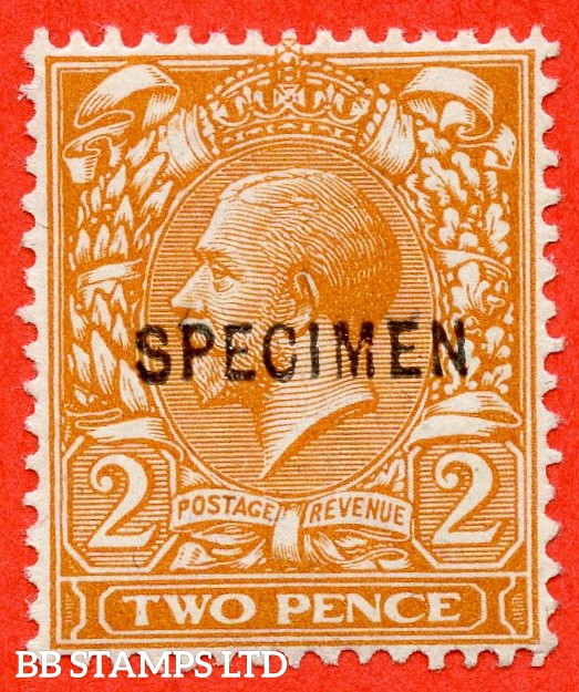 SG. 368 s. N19 (5) s. 2d orange. Die 1. A super lightly mounted mint example overprinted by SPECIMEN type 26.
