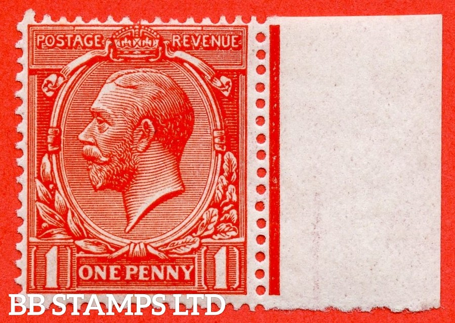 SG. 361. N16 (14 ). 1d Scarlet - Vermilion. A super UNMOUNTED MINT right hand marginal example complete with RPS certificate.