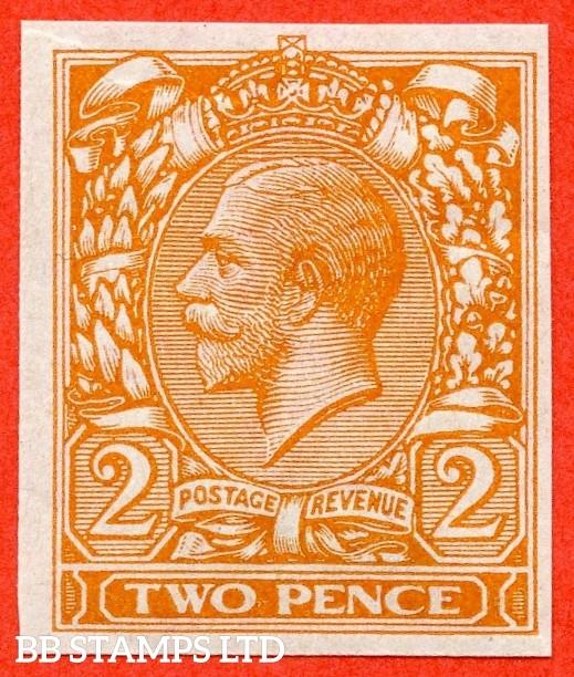 "SG. 370. N20 (1). 2d Orange. ( Die II ). IMPRIMATUR. A superb UNMOUNTED MINT example backstamped "" BPMA ""."