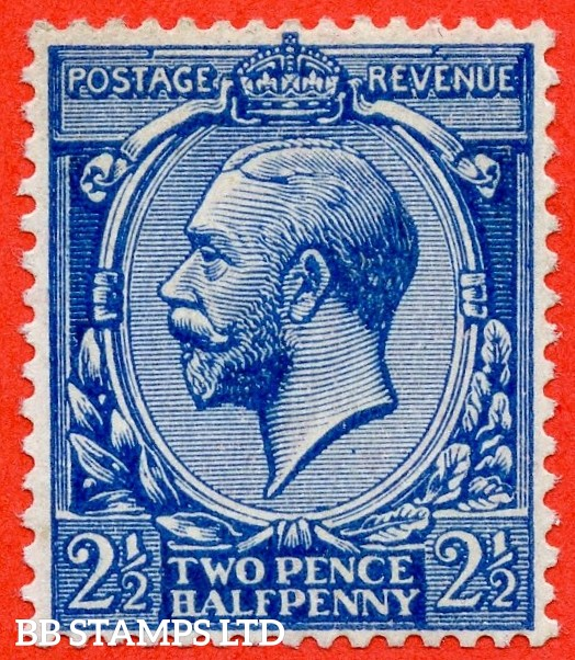 SG. 371a. Variety N21 (5). 2½d deep bright blue. A super UNMOUNTED MINT example. Complete with RPS certificate.