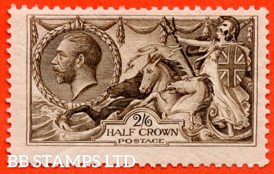 SG. 400. N63 (3). 2/6 Sepia - Brown. A fine mounted mint example.
