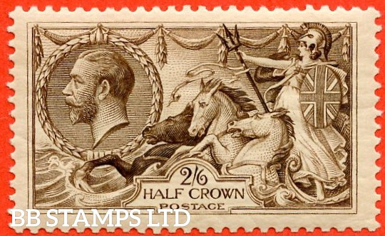 SG. 414. N65 (3). 2/6 Chocolate - brown. A fine UNMOUNTED MINT example.