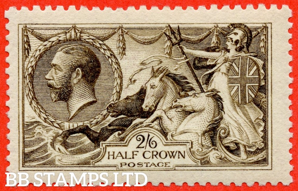 SG. N64 (14). 2/6 blackish brown. A superb UNMOUNTED MINT example complete with BPA certificate.
