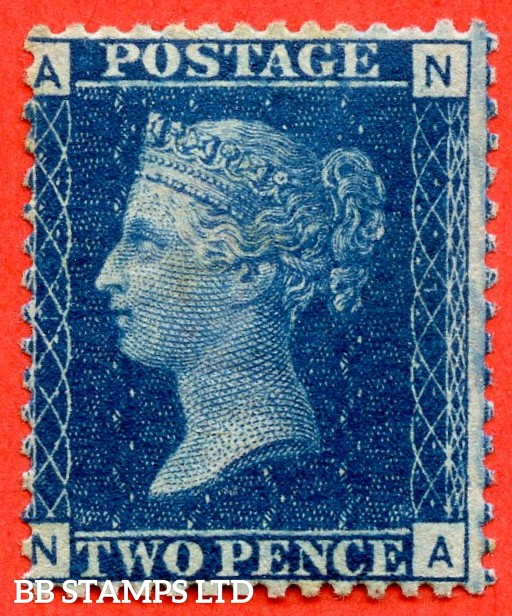 """SG. 46/47. G3."""" NA """". 2d blue. Plate 15. A fine UNMOUNTED MINT example."""