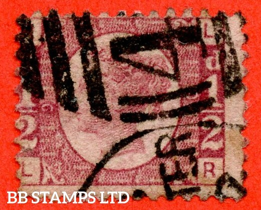"SG. 48/49. "" LR "". ½d Rose - red plate 9. A good used example of this difficult plate number."