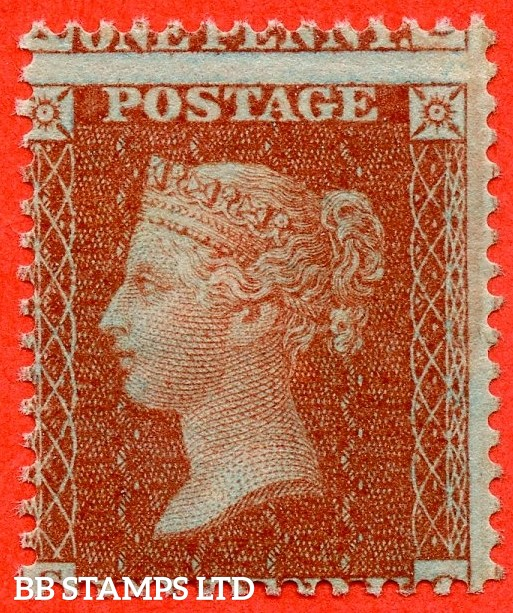 "SG. 24. C3 (1). "" SC "". 1d red brown ( Die II ). Plate 6. A fine UNMOUNTED MINT example."