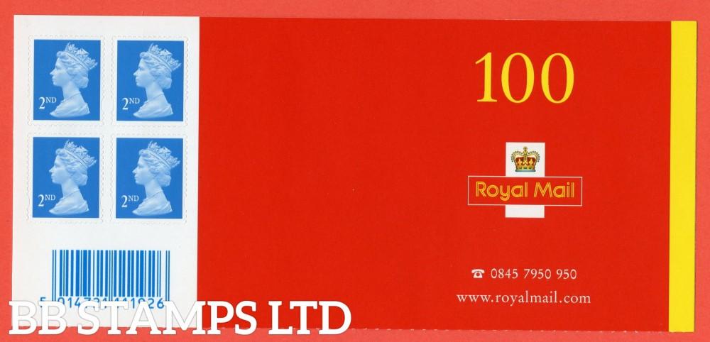 SA3. SG. 2039. 2nd Class blue. 2004 Walsall Business Sheet Header of 4.