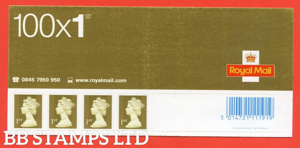 SA10. SG. 2295. 1st Class Gold. 2002 Enschede - Gravure Business Sheet Header of 4.