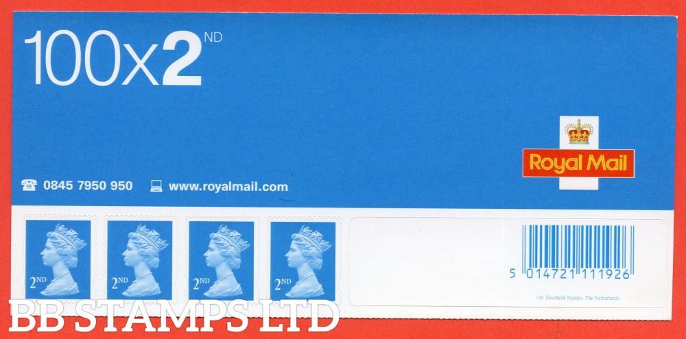 SA9. SG. 2039. 2nd Class blue. 2002 Enschede Business Sheet Header of 4.