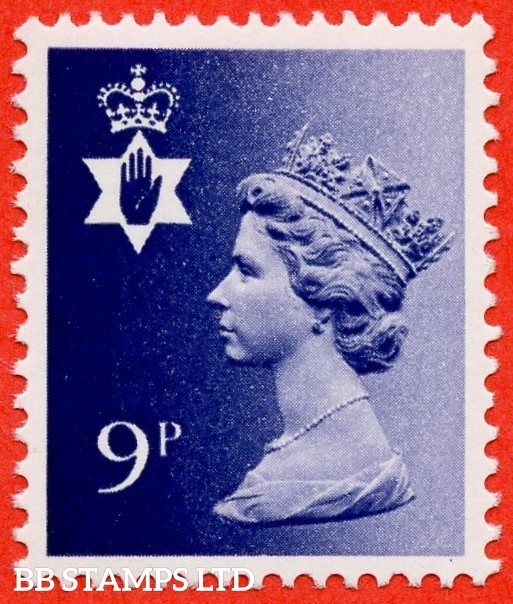 SG. NI26 Ey. 9p deep violet. MISSING PHOSPHOR. A very fine UNMOUNTED MINT example.