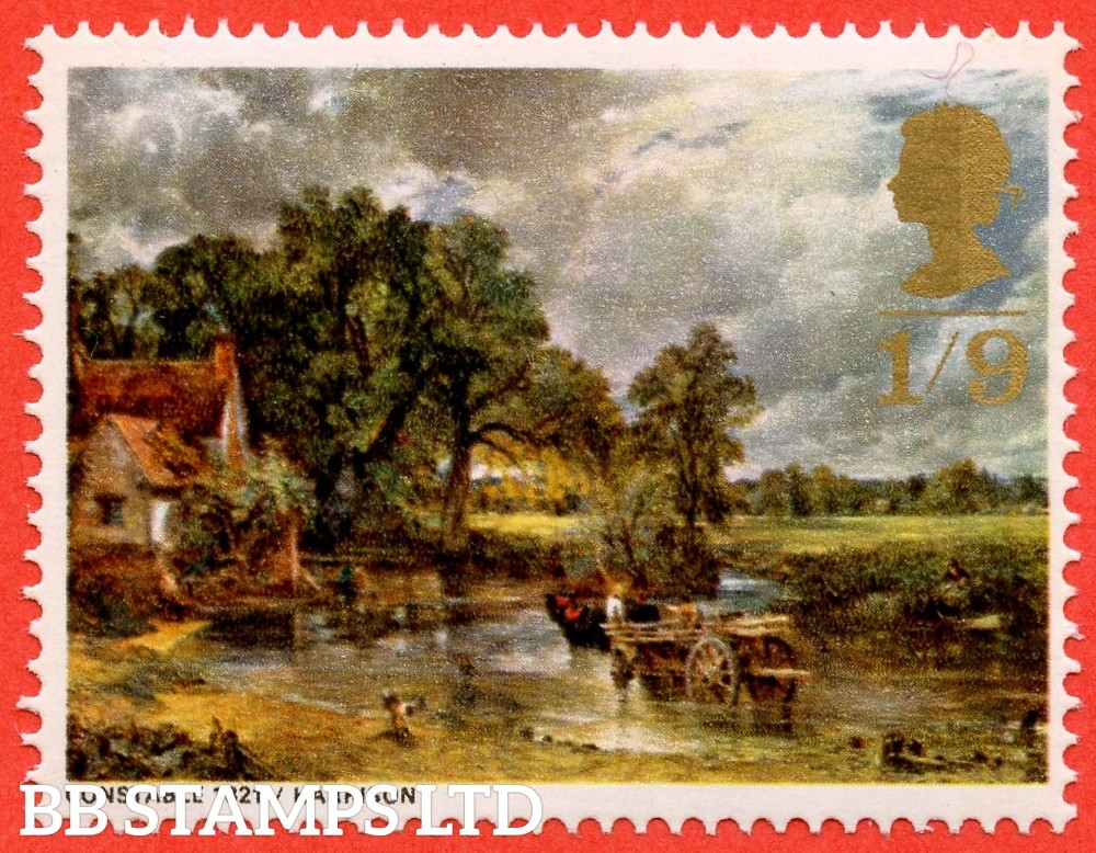SG. 774 Ec. 1/9 1968 Paintings. MISSING EMBOSSING. A very fine UNMOUNTED MINT example of this ERROR.