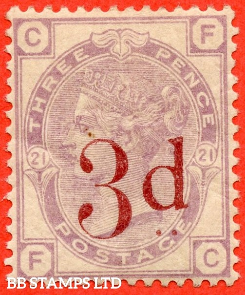 "SG. 159. K8A. "" FC "". 3d on 3d lilac. A fine UNMOUNTED MINT example."