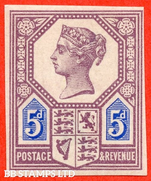 SG. 207. K35. 5d Dull Purple & Blue ( Die 1 ). IMPRIMATUR. A very fine UNMOUNTED MINT example of this very scarce Jubilee issue.