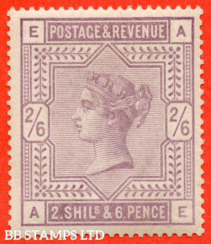 "SG. 178. K10 (1). "" AE "". 2/6 Lilac. A very fine UNMOUNTED mint example."