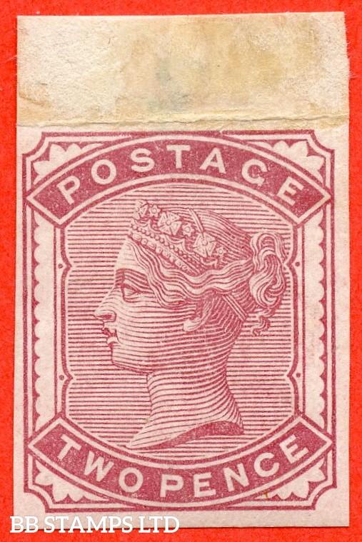 SG. 168. K5 (1).  2d pale rose. IMPRIMATUR. A fine mounted mint example.