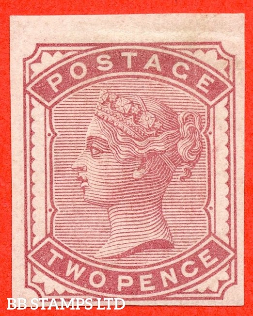 SG. 168. K5 (1).  2d pale rose. IMPRIMATUR. A very fine mounted mint example.