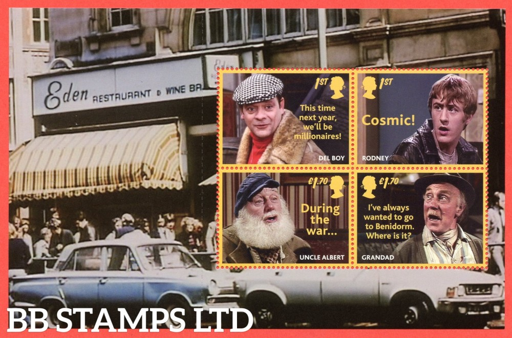 2021 Only Fools and Horses (Pane 3) from DY37