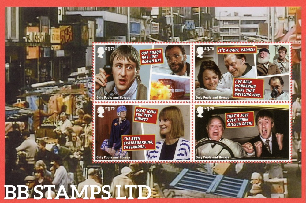 2021 Only Fools and Horses (Pane 4) from DY37